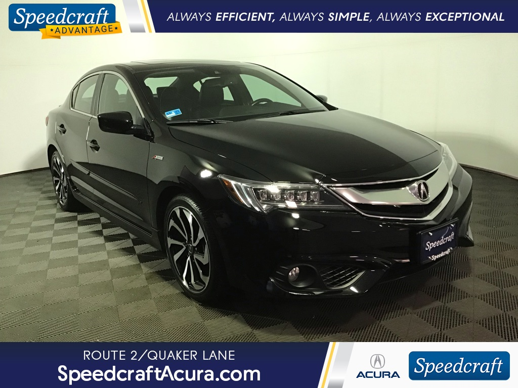 Pre-Owned 2018 Acura ILX Technology Plus and A-SPEC Packages