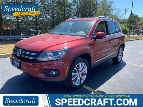 Pre-Owned 2013 Volkswagen Tiguan SE 4Motion AWD SUV AWD